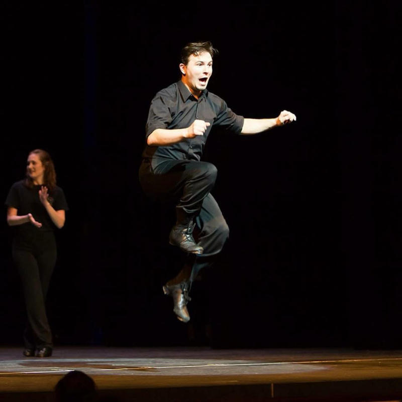 Jason Aycock onstage