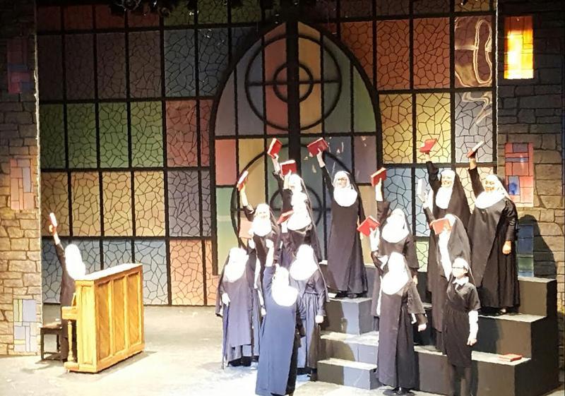"""Nuns in """"Sister Act"""" at Thalian Hall"""