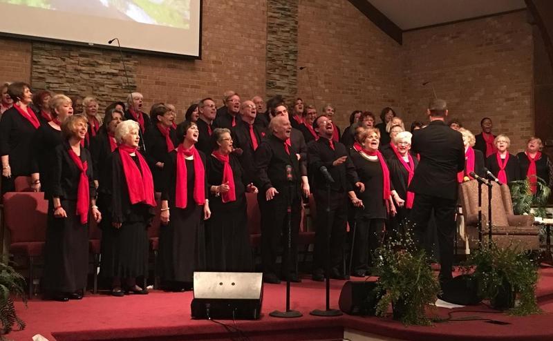 WIlmington Celebration Choir at New Life Church, Lumberton
