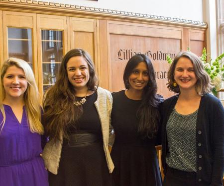 Founders of ASAP: (L-R) Liz Willis, Conchita Cruz, Swapna Reddy, Dorothy Tegeler