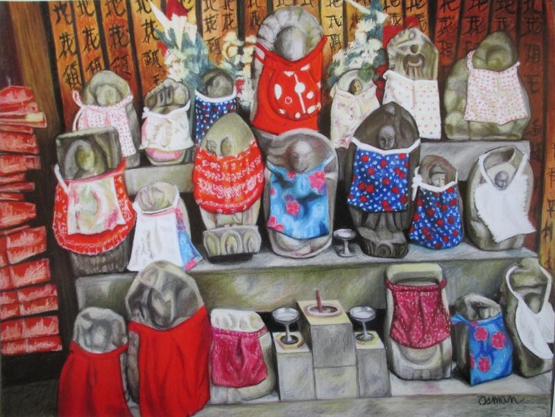 O-Jizo-San, Mark Gansor's favorite work by Carole Osman