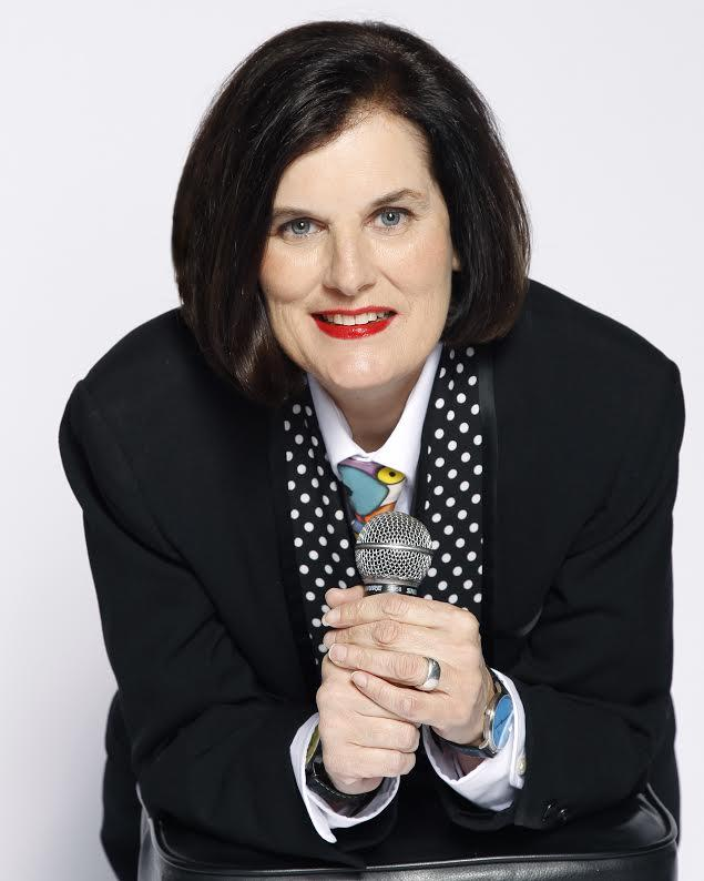 Paula Poundstone performs Friday, 2/10 at the Wilson Center