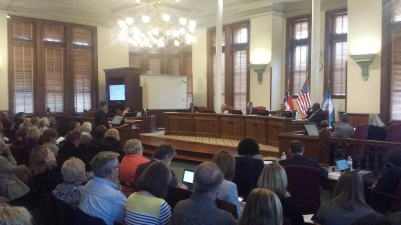A full house was on hand as the New Hanover County Commissioners approved the new Special Use Permit.