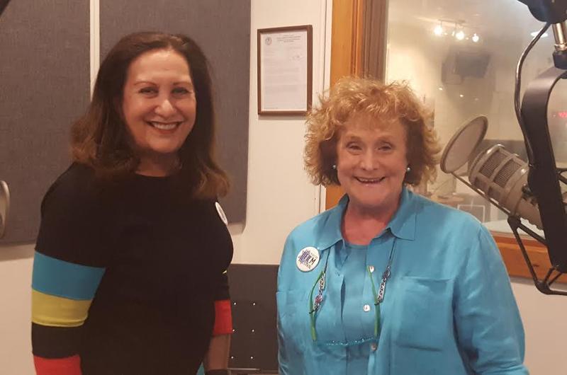 Debbie Smith (President) & Peggy Pancoe Rosoff (Marketing Chair)
