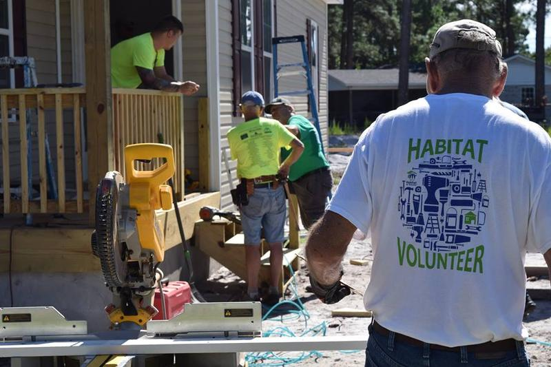 Cape Fear Habitat for Humanity builds a house