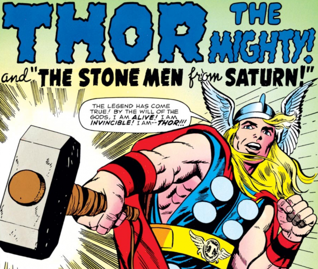 Thor, by Jack Kirby