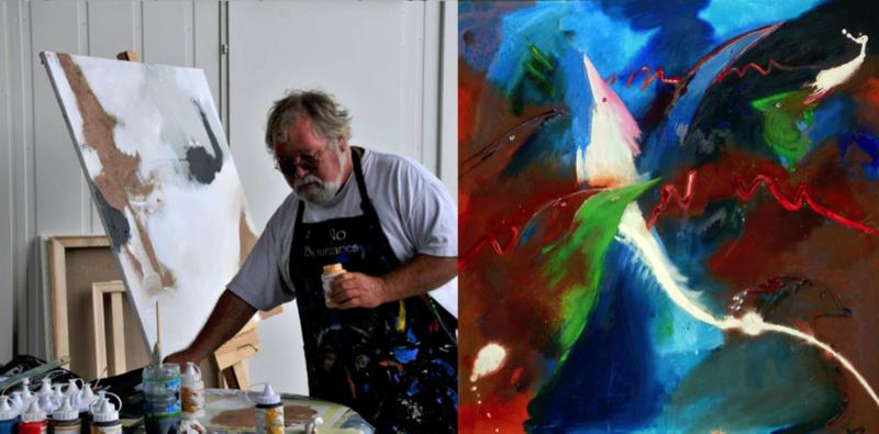Artist Dick Roberts