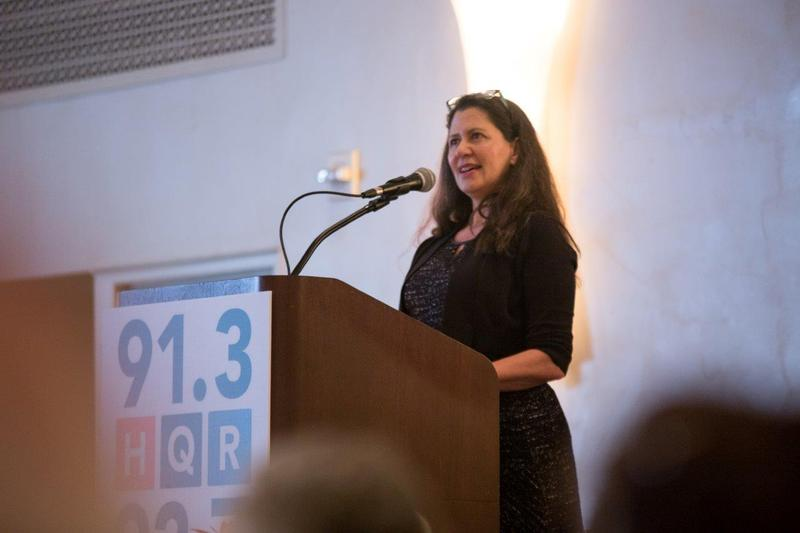 Melissa Block spoke to WHQR supporters while in Wilmington.
