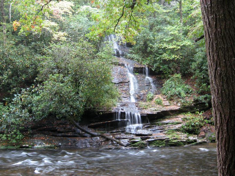 Waterfall, Graham County