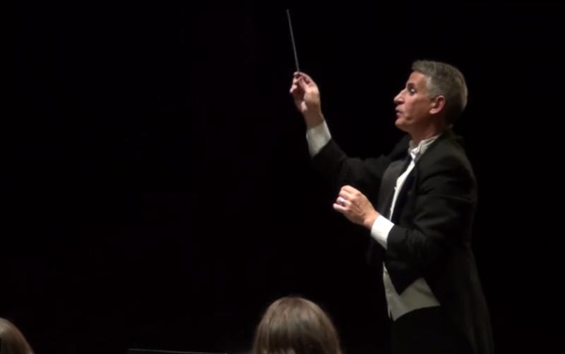 Dr. LaCognata conducting Wilmington Symphonic Winds