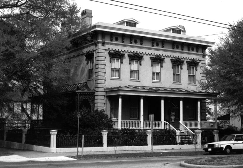The Lower Cape Fear Historical Society offers walking tours in downtown Wilmington which includes the Latimer House.
