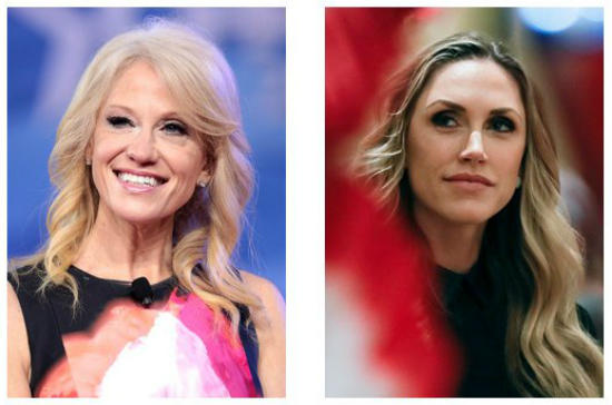 White House advisor Kellyanne Conway will address the convention, as will Lara Trump, a native of Wilmington and daughter-in-law of President Trump.