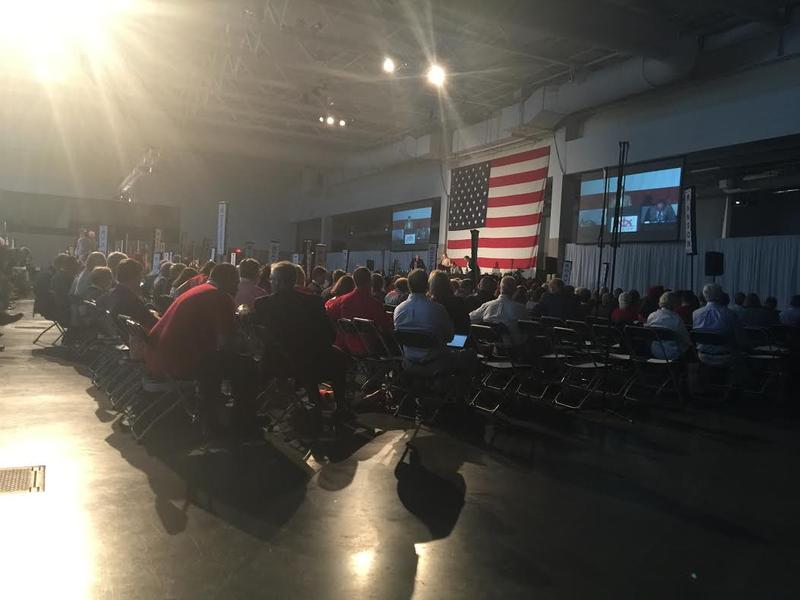 Senate Leader Phil Berger spoke Saturday, June 3rd to the NC GOP Convention