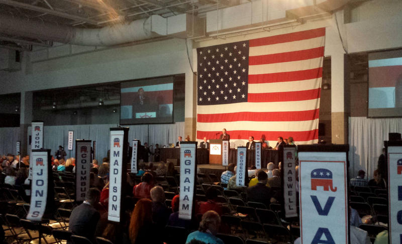 The North Carolina GOP convention was in Wilmington from Friday through Sunday.