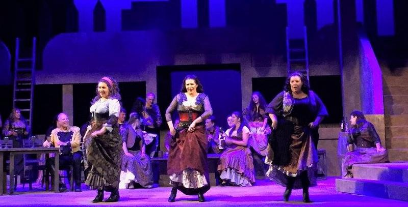 Carmen rehearsal: Gypsy Song