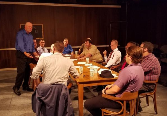"""12 Angry Men"" in rehearsal"