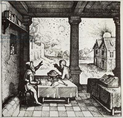An Astrologer Casting a Horoscope, 1617