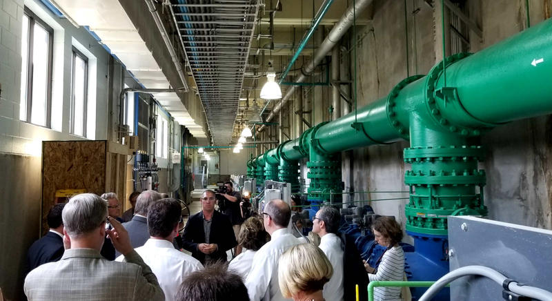 Prior to the meeting, many members of the General Assembly took a tour of the Cape Fear Public Utility Authority treatment plant in Wilmington.
