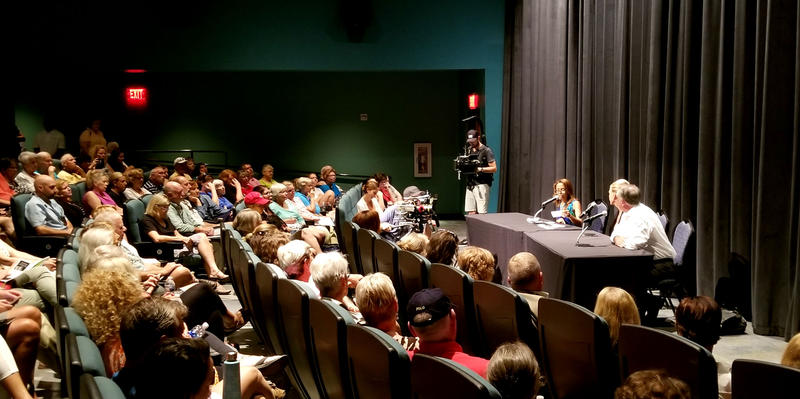 Almost 300 people attended the GenX forum Wednesday night.