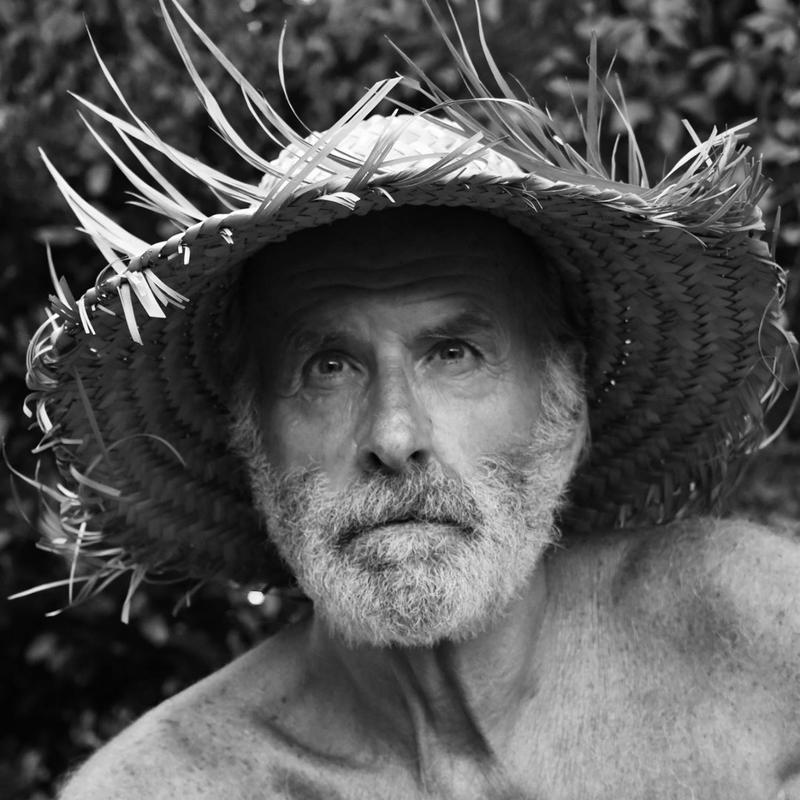 Eben French Mastin as Robert Harrill, the Hermit of Fort Fisher