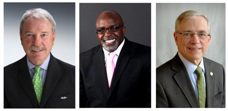 L to R:  Charlie Rivenbark, Clifford Barnett, Kevin O'Grady