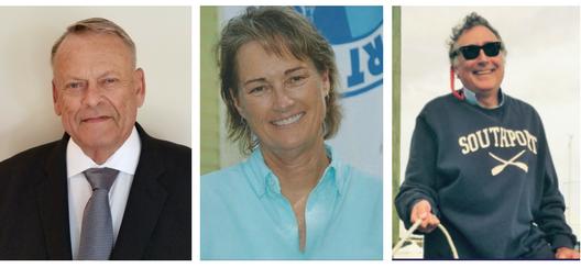 L to R:  Jerry Dove, Karen Mosteller, Joe Pat Hatem