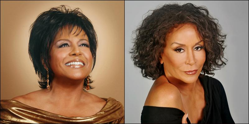 Scherrie (l) and Freda Payne