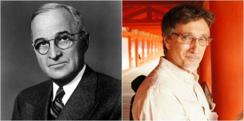 President Harry Truman (l) & grandson Clifton Truman Daniel