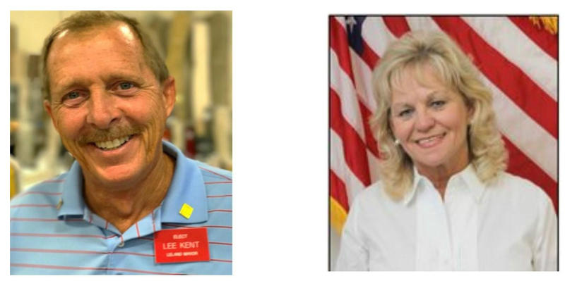 The Mayor serves a two-year term, and there are two candidates hoping to be the next one – the incumbent, Brenda Bozeman, and a challenger, Lee Kent.
