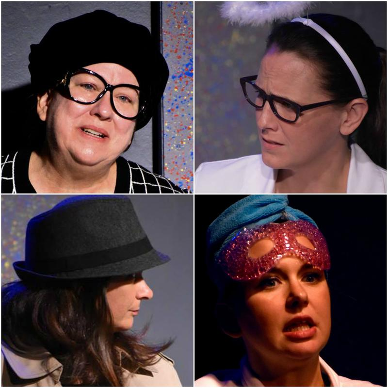 Clockwise from upper left: Holli Saperstein, Susan Auten, Jaimie Harwood, Gina Gambony