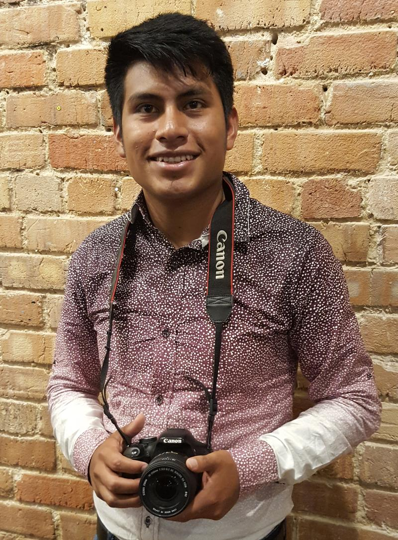 Jose Elias Quieju Lacan, a Mayan youth from Guatemala