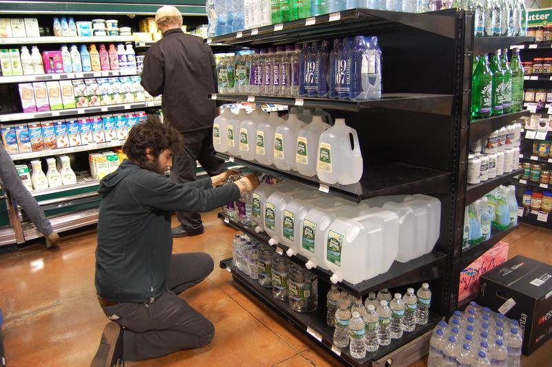 Sales of bottled water have risen since the GenX story hit the street in June.