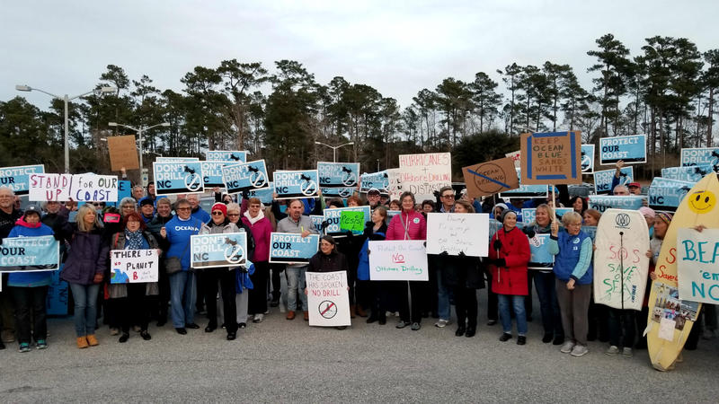 Two years ago, county commissioners voted to support seismic testing and drilling off the North Carolina coast. Organizations like BEAT - Brunswick Environmental Action Team - and Oceana have been battling ever since.