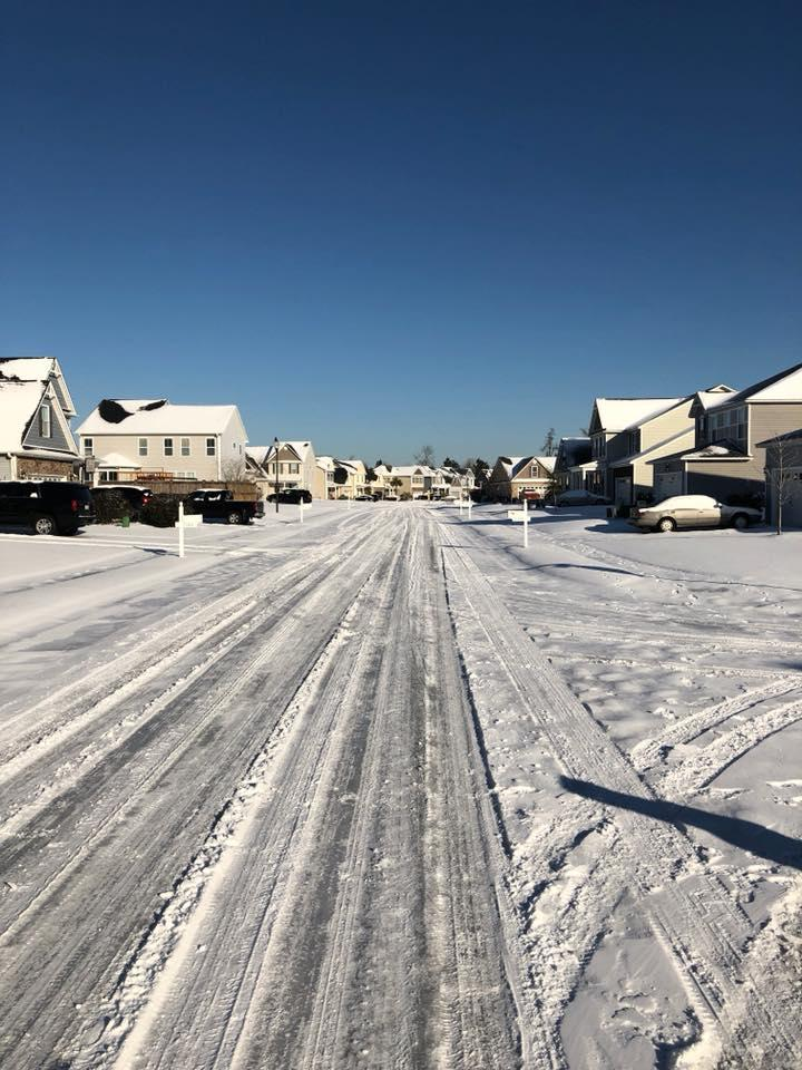 A residential neighborhood in Leland Thursday, January 4, 2018.