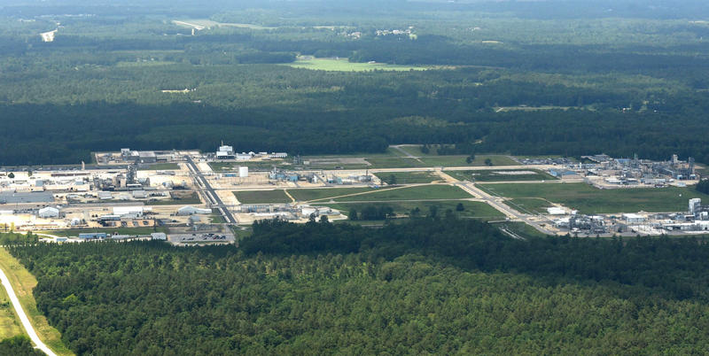 The Chemours facility in Fayetteville, North Carolina.