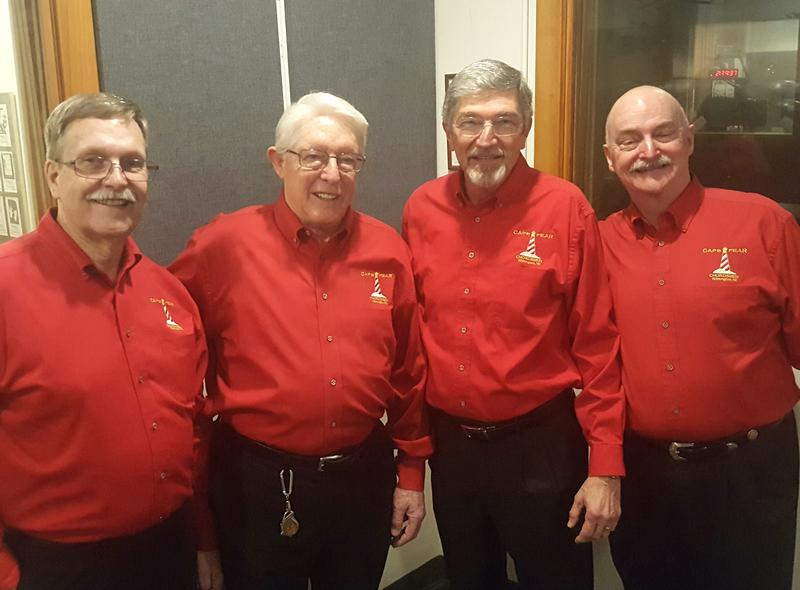 """Duffy's Tavern"" Quartet from the Cape Fear Chordsmen"