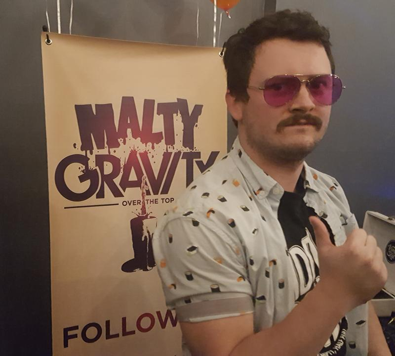 Alex Amick from Malty Gravity