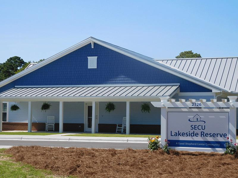 SECU Lakeside Reserve is a $5 million affordable housing project in Wilmington which provides permanent, affordable housing with supportive services to chronically homeless single adults with disabilities (physical, mental health, or a combination).