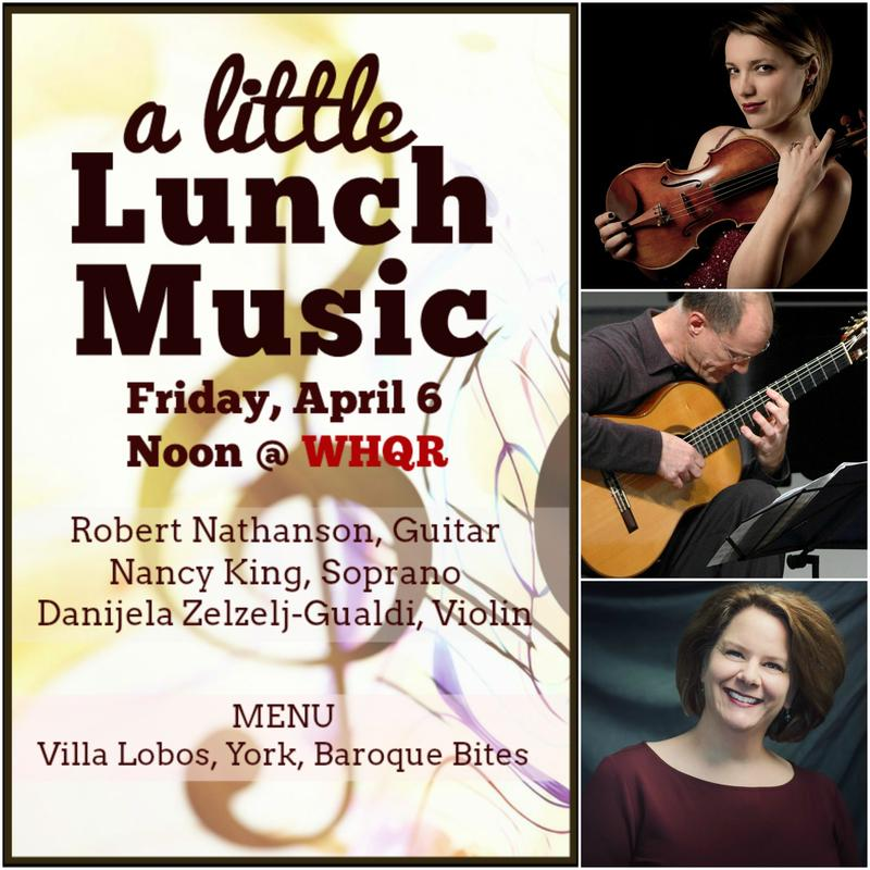 A Little Lunch Music-Robert Nathanson, Nancy King, Danijela Zezelj-Gualdi