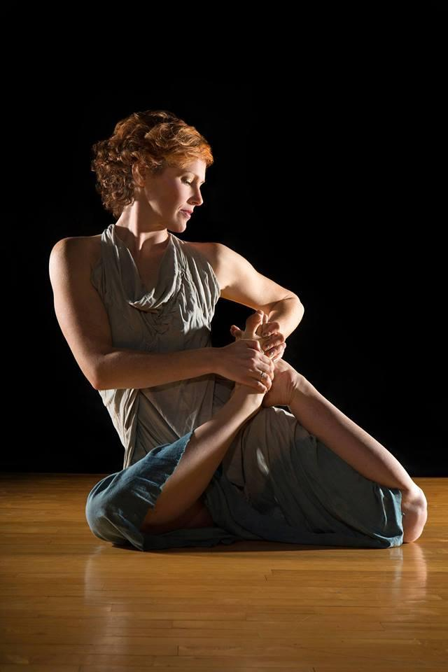 Rachael Goolsby is a dancer and choreographer with the Wilmington Dance Festival