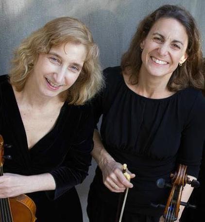 Elizabeth Fields (l) and Stephanie Vial