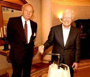 Gwenyfar's Husband, the Suit, & Jimmy Carter