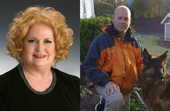 Janice Cavenaugh was first elected to the board in 1987 and has served continuously since 2002. Chris Morgan is running for the first time.