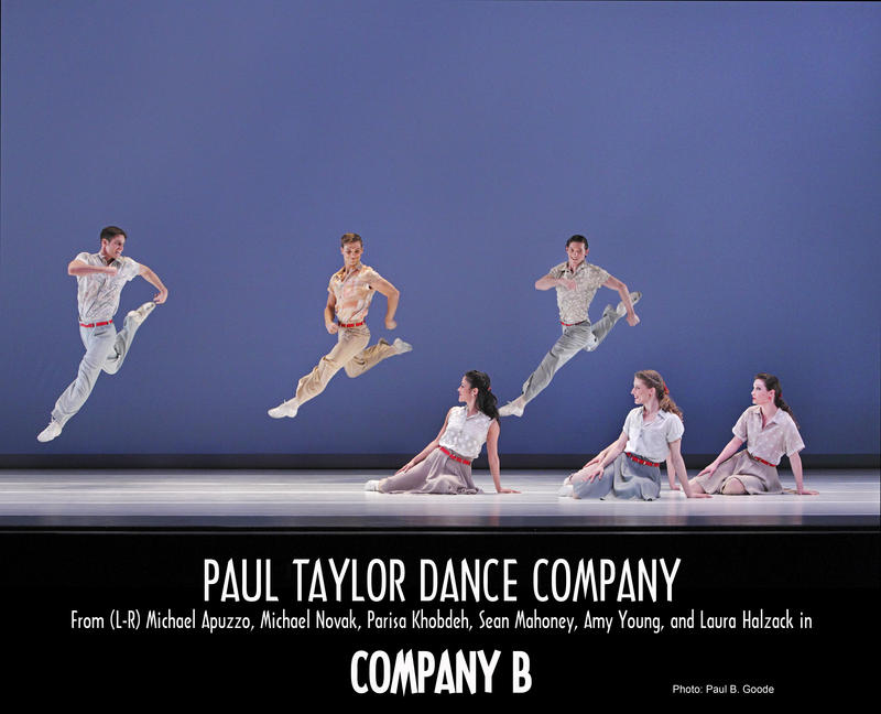 Paul Taylor Dance Company performs Company B, an homage to World War II-era military members.
