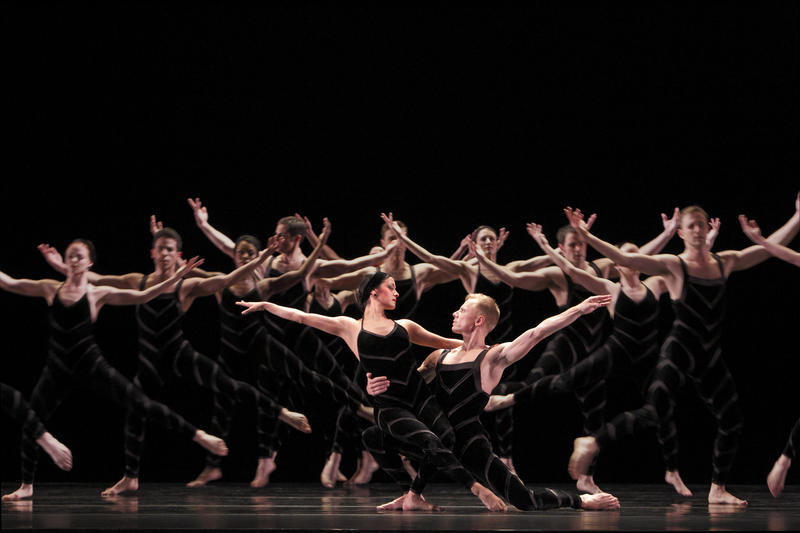 Paul Taylor Dance Company performs Promethean Fire, based on the New York terrorist attacks of September 11, 2001, at The Wilson Center May 24, 2018.
