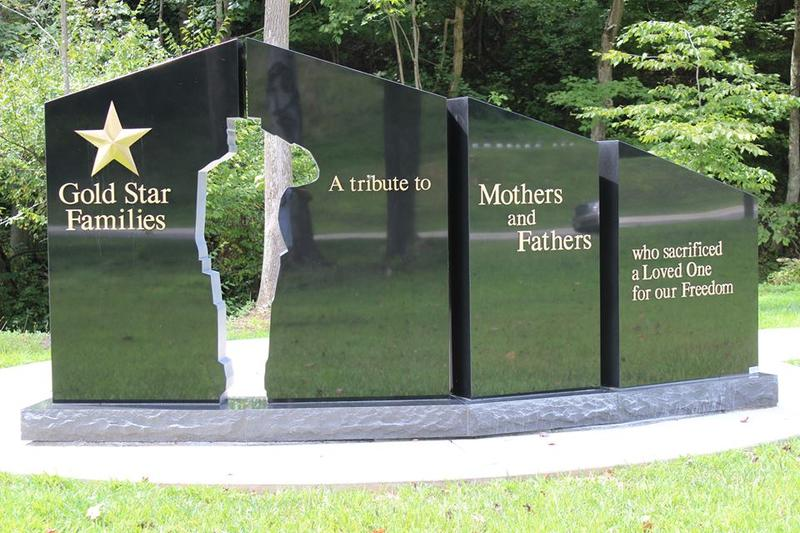 A Gold Star Family Memorial Monument