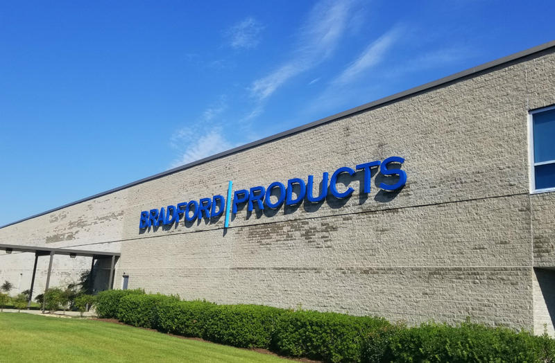 Bradford Products is based in Leland, NC.