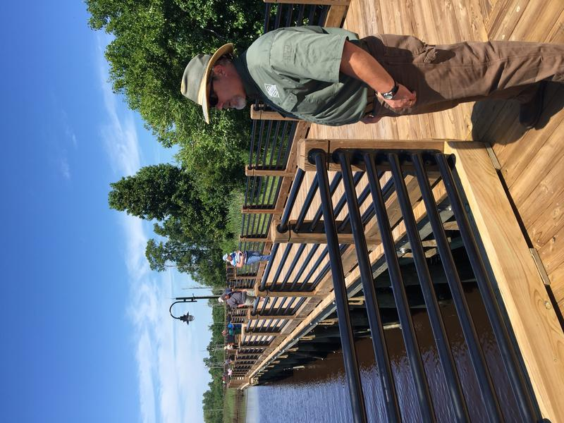 Wildlife Biologist Chris Kent of the NC Wildlife Resources Commission