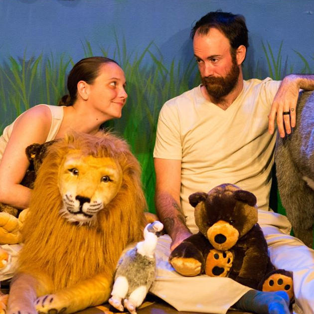 Susan Auten, Brendan Carter, and all the animals
