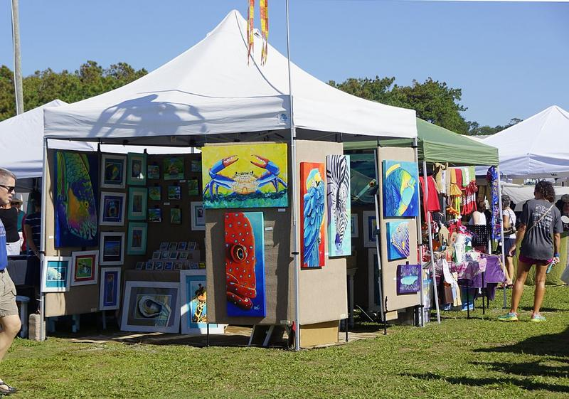 Oak Island Arts & Crafts Festival (previous year)